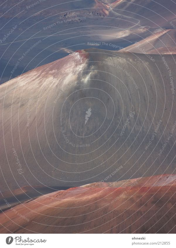Gipfel Landschaft Erde Berge u. Gebirge Vulkan Haleakala karg Menschenleer Reisefotografie