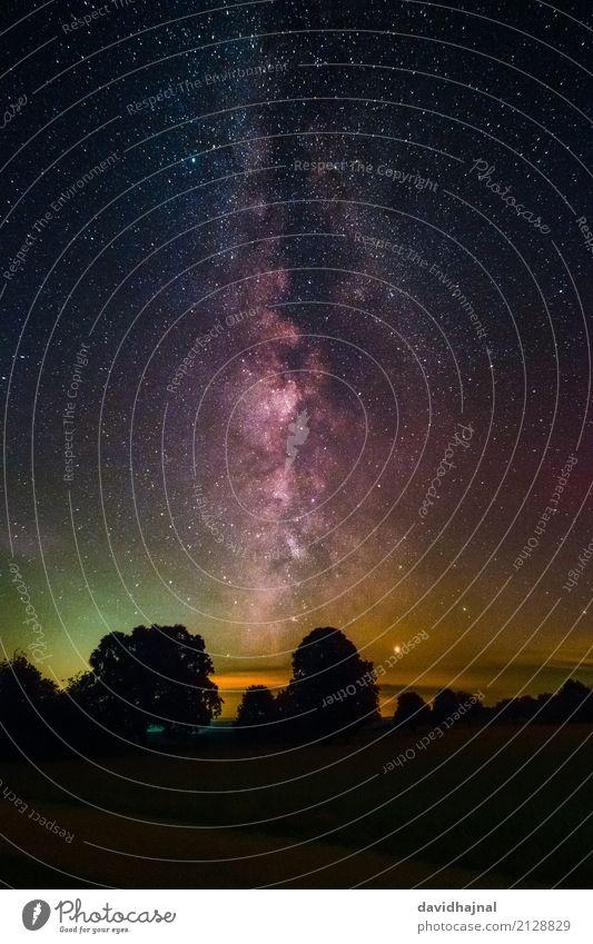 Galaxis Natur Ferien & Urlaub & Reisen Sommer Baum Landschaft Wolken Wald Berge u. Gebirge Umwelt Kunst Deutschland Horizont wandern Europa Abenteuer Stern