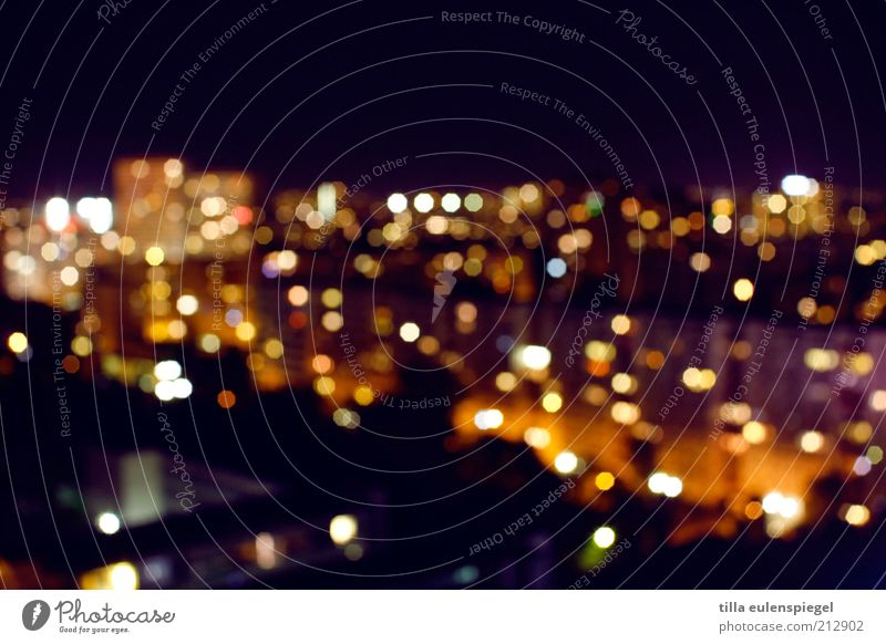 citylights Stadt Gebäude Häusliches Leben Nachthimmel Skyline Hauptstadt Unschärfe Nachtleben Lichtpunkt Nachtaufnahme Wohngebiet Nachtlicht