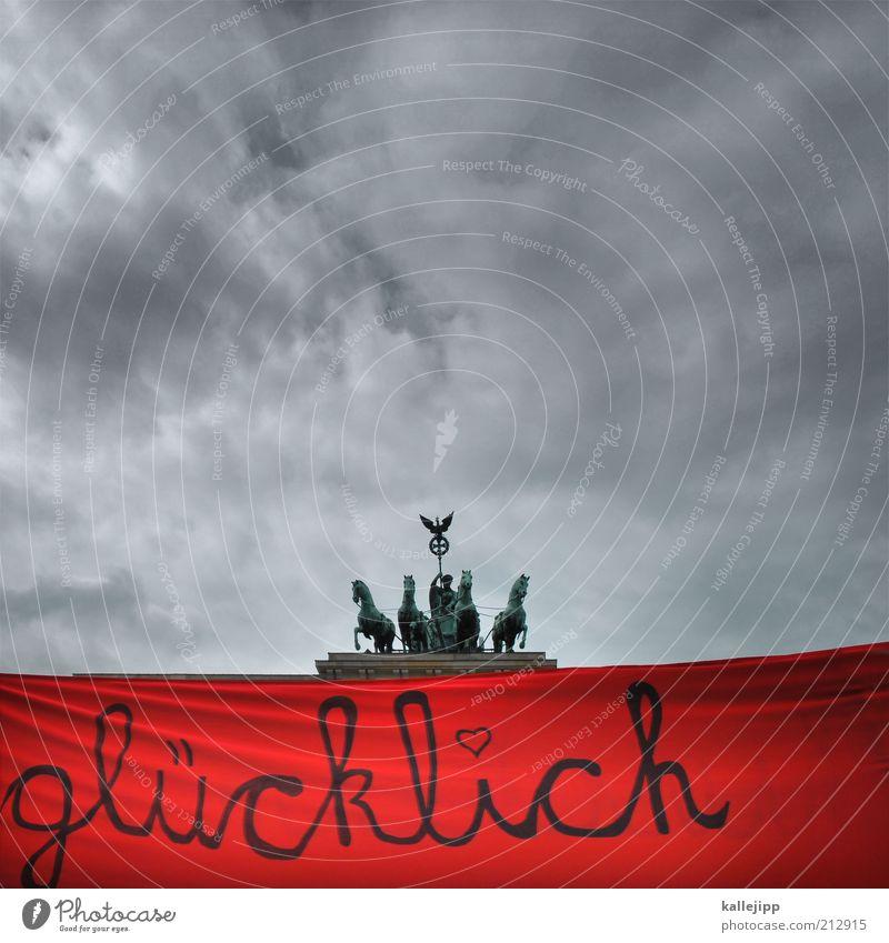 verliebt in berlin Ferien & Urlaub & Reisen Tourismus Sightseeing Städtereise 1 Mensch Hauptstadt Bauwerk Gebäude Sehenswürdigkeit Wahrzeichen Zeichen