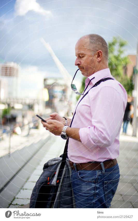moment mal Mensch Mann Stadt Stadtleben Coolness PDA