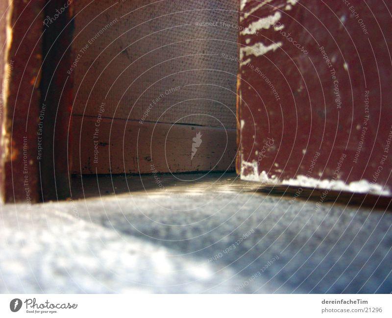Flur Stein Tür Bodenbelag Altbau