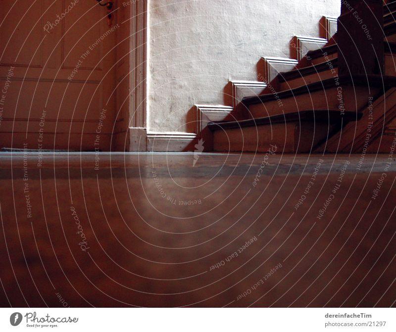 Treppe Haus Holz Architektur Bodenbelag Flur Altbau