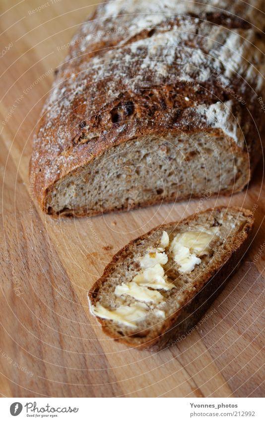 Butterbrot Gesundheit natürlich Lebensmittel frisch Ernährung Gesunde Ernährung einfach lecker Brot Holzbrett Bioprodukte Abendessen ökologisch Mahlzeit