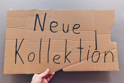Flohmarkt (02) Freude lustig Mode Schriftzeichen Schilder & Markierungen Hinweisschild kaufen neu Sammlung Handel Karton Warnschild handschriftlich