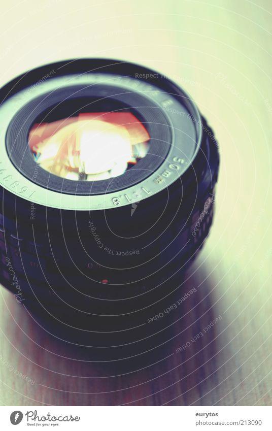 objektive Meinung Fotokamera Technik & Technologie Design Objektiv Linse Reflexion & Spiegelung Blende Licht Zoomeffekt Brennweite Farbfoto mehrfarbig