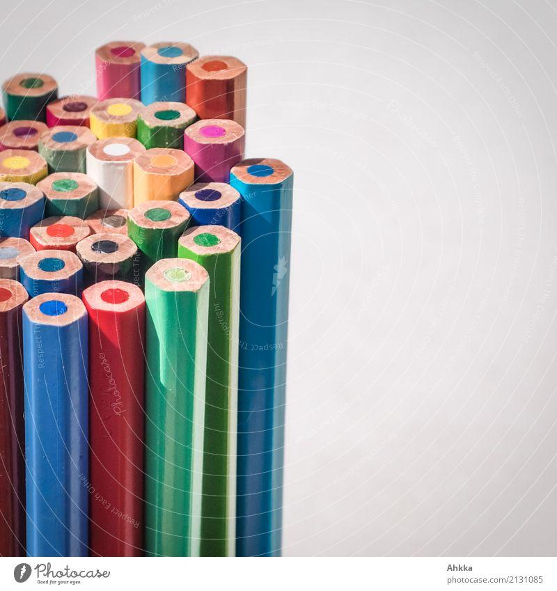 Skyline Farbe Hintergrundbild Zusammensein Freizeit & Hobby Kindheit Kreativität Erfolg Beginn Idee Papier Hilfsbereitschaft viele Zusammenhalt zeichnen