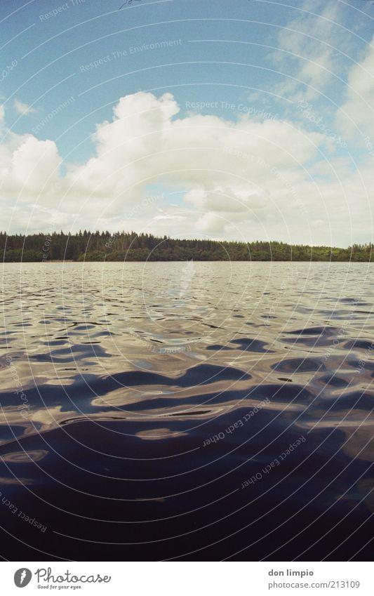 lough mask Natur Wasser Himmel Sommer Ferien & Urlaub & Reisen ruhig Wolken Ferne See Landschaft Luft Stimmung Wellen Umwelt Erde