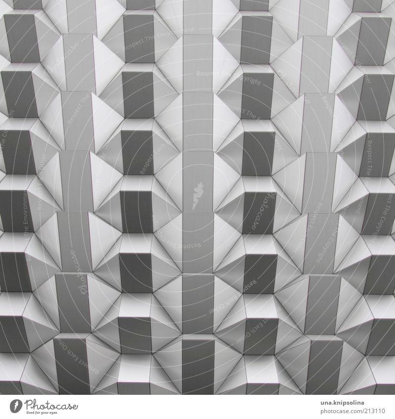 fassade Dresden Haus Architektur Mauer Wand Fassade stachelig Metall Fassadenverkleidung Strukturen & Formen Tag Schwarzweißfoto Außenaufnahme Detailaufnahme