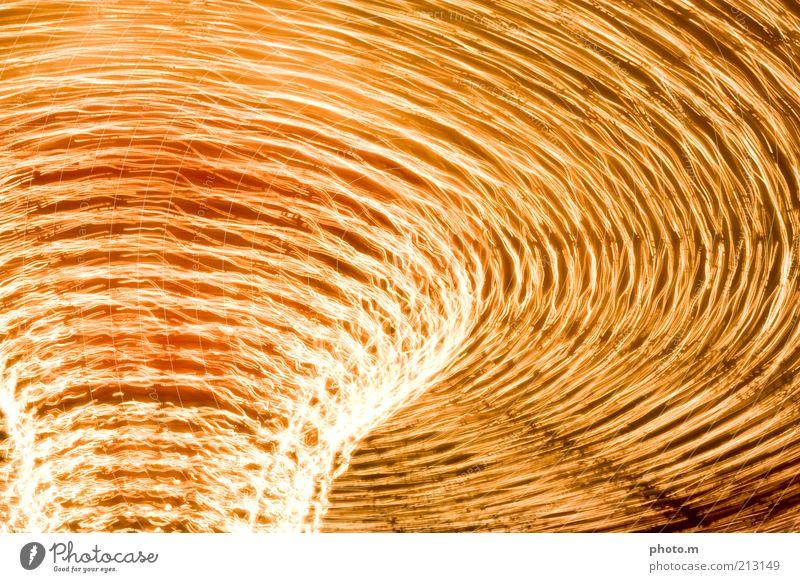 Was ist das? Karussell gold Lichtspiel Farbfoto Außenaufnahme Langzeitbelichtung Kunstlicht Lichtkunst Zentrifugalkraft Dynamik Beschleunigung rotieren Drehung