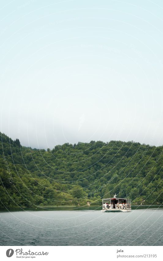 Fähre Natur Wasser Himmel Wald See Schifffahrt Wasserfahrzeug Bootsfahrt