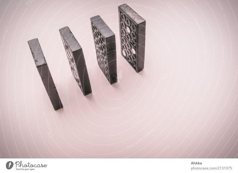 Domino Spielzeug Stein Dominosteine 4 wählen rosa schwarz Macht Mut Akzeptanz Vertrauen Sicherheit loyal Sympathie Verantwortung gewissenhaft Selbstbeherrschung