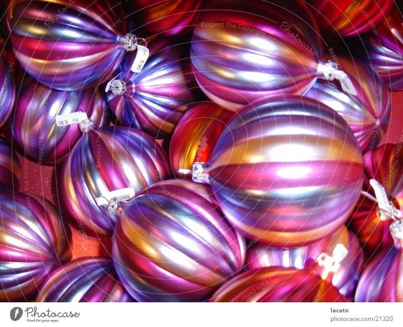 x-mas kugeln Christbaumkugel Schmuck mehrfarbig verschönern Winter Weihnachten & Advent Kugel Kitsch