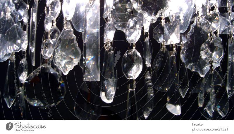 kristall Kronleuchter Lampe Schmuck Kristallstrukturen Glas