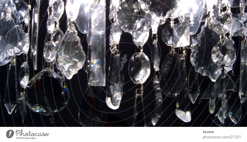 kristall Lampe Glas Schmuck Kristallstrukturen Kronleuchter