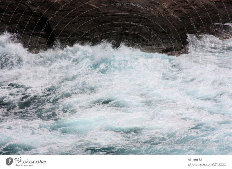 Bewegte See II Natur Urelemente Wasser Felsen Wellen Küste Bucht Meer Pazifik wild Kraft Leben Energie Farbfoto Außenaufnahme Menschenleer Gischt Brandung