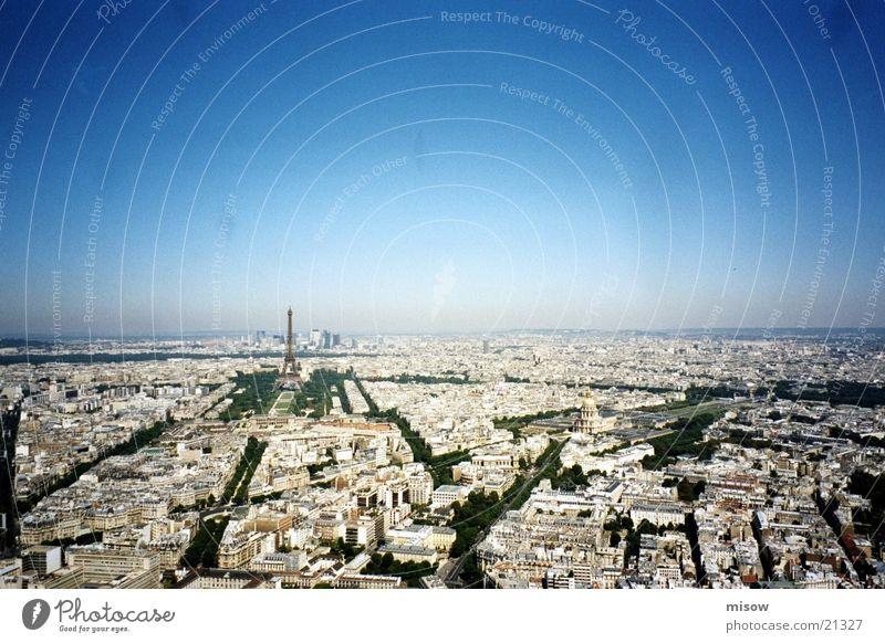 über den dächern Europa Aussicht Paris Frankreich Tour d'Eiffel
