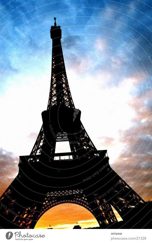paris Tour d'Eiffel Paris historisch Architektur