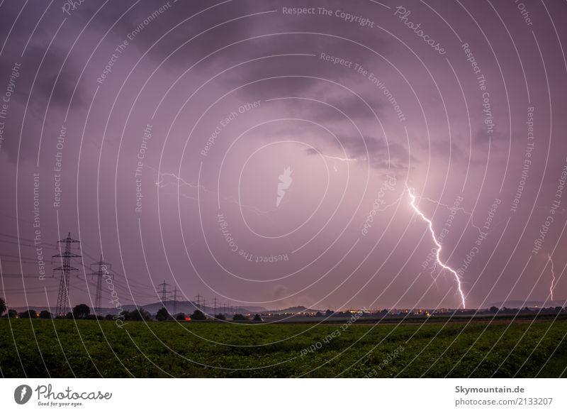 Und Gott sprach Umwelt Natur Landschaft Wolken Gewitterwolken Nachthimmel Sommer Herbst Klima Klimawandel Wetter Schönes Wetter schlechtes Wetter Unwetter Wind