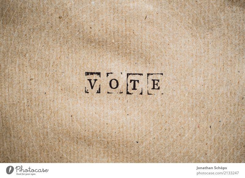 Wahlaufforderung Vote zur Bundestagswahl 2021 Entschlossenheit Text wählen Wahlen Entscheidung unentschlossen Typographie Schriftzeichen Holz Stempel Parteien