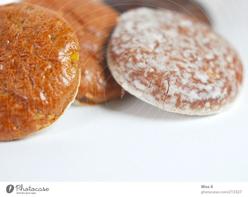 Vorfreude Ernährung Lebensmittel süß rund lecker Duft Süßwaren Schokolade Backwaren Vorfreude Teigwaren Lebkuchen Zuckerguß