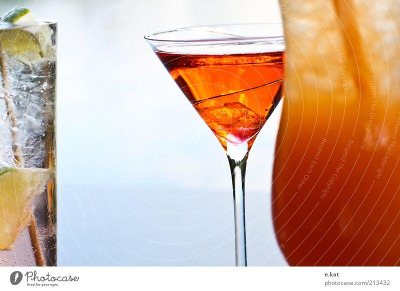 farbe.Bekennen rot Farbe Glas Getränk Flüssigkeit lecker genießen Cocktail exotisch Durst saftig mehrfarbig Alkohol Limonade Lebensmittel Erfrischungsgetränk