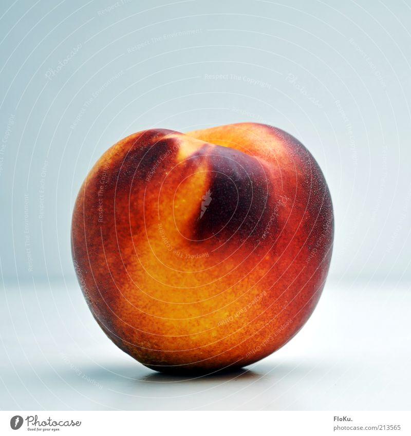 burn, Pfirsich, burn! Lebensmittel Frucht Ernährung Bioprodukte Vegetarische Ernährung Diät ästhetisch exotisch frisch Gesundheit schön lecker rund saftig süß