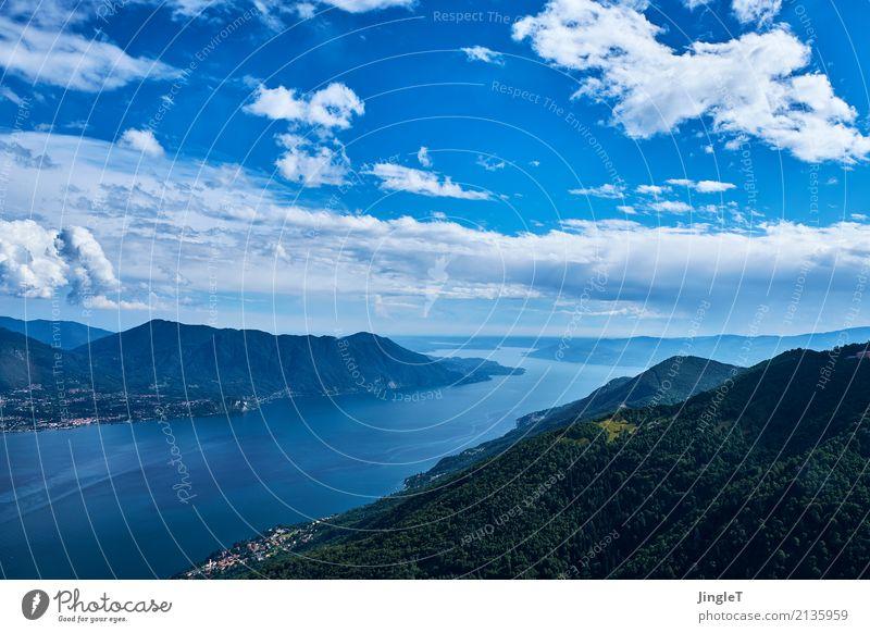 general overview Umwelt Natur Landschaft Pflanze Tier Himmel Schönes Wetter Berge u. Gebirge See genießen blau braun grün schwarz weiß Begeisterung Perspektive