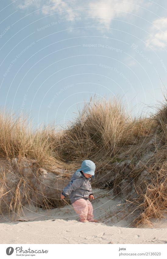 entdecken Kind Natur Ferien & Urlaub & Reisen Sommer Freude Strand Gesundheit feminin Spielen Freiheit Sand Ausflug Zufriedenheit Kindheit Lebensfreude lernen