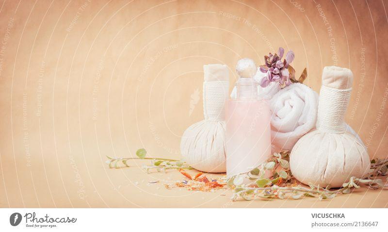 Spa Zubehör für Wellness und Massage Lifestyle Stil Design schön Körperpflege Kosmetik Creme Gesundheit Alternativmedizin Sinnesorgane Erholung Duft Kur