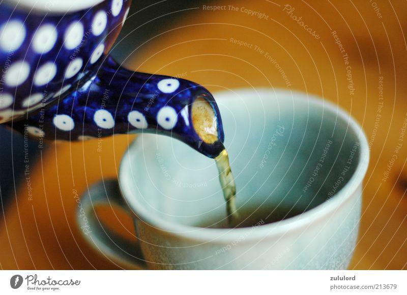 abwarten Getränk trinken Heißgetränk Tee Geschirr Tasse Gesundheit Wellness harmonisch Wohlgefühl füllen Teekanne Kannen Wärme gemütlich Schwarzer Tee