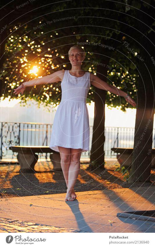 #A# Brühlsches Gold 1 Mensch ästhetisch Dresden Brühlsche Terrasse Allee Baum Gleichgewicht Leichtigkeit Idylle Farbfoto mehrfarbig Außenaufnahme Detailaufnahme