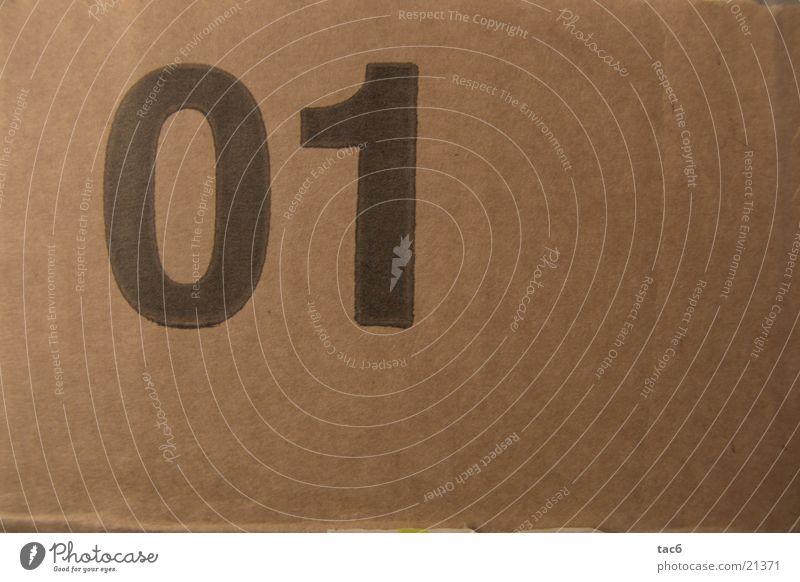 01 nr.2 Stil Ziffern & Zahlen Typographie Fototechnik