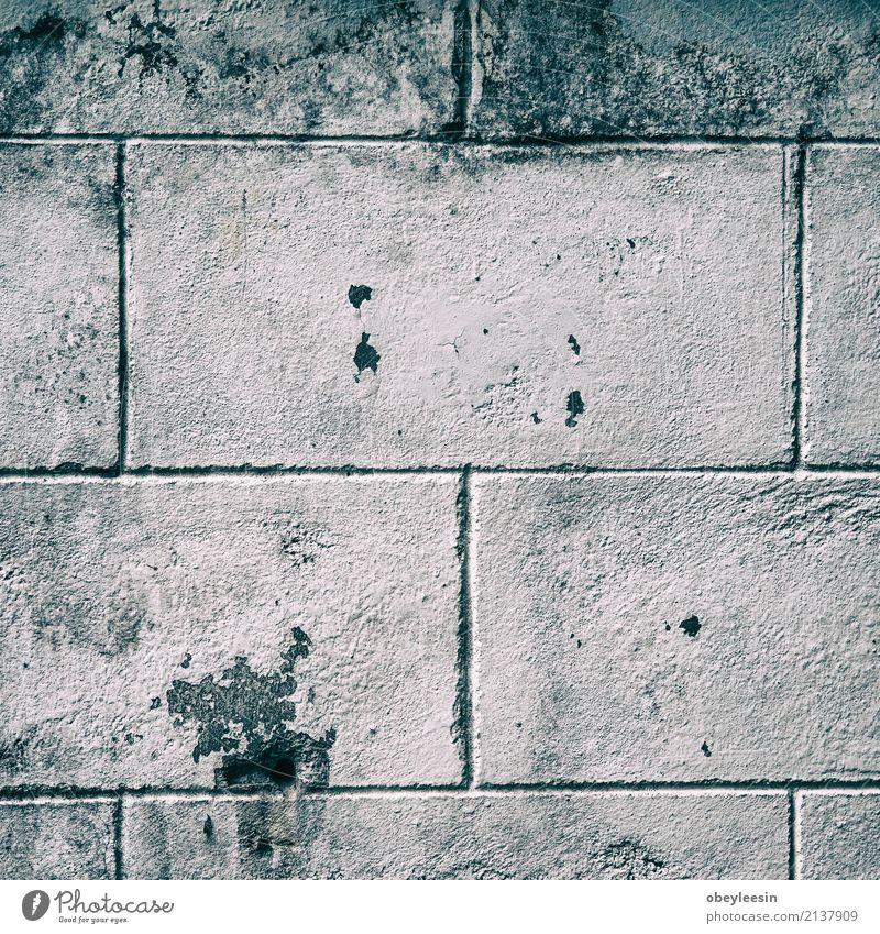 Zusammenfassung verwitterte Beschaffenheit befleckter alter Stuck weiß schwarz Architektur Farbstoff Stein braun Nebel dreckig retro Beton Rost Material
