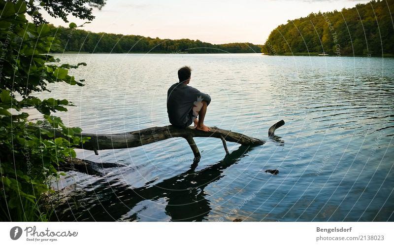 Seepause I Leben harmonisch Wohlgefühl Zufriedenheit Sinnesorgane Erholung ruhig Meditation Freizeit & Hobby Ferien & Urlaub & Reisen Tourismus Ausflug