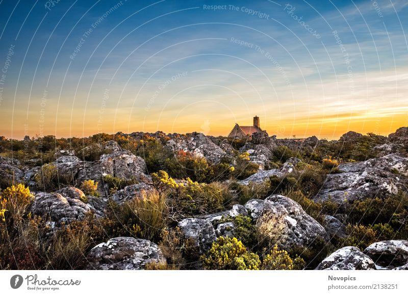 South Africa - Cape Town - Table Mountain Ferien & Urlaub & Reisen Tourismus Ausflug Abenteuer Freiheit Sonne Berge u. Gebirge wandern Haus Natur Landschaft