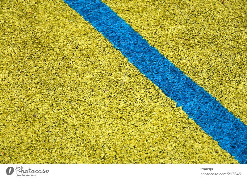 On the Floor at the Boutique Lifestyle Stil Design Innenarchitektur Dekoration & Verzierung Teppich Zeichen Linie leuchten blau gelb Farbe Ordnung Bodenbelag