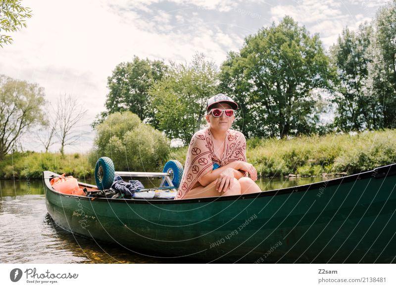 captain Lena Natur Ferien & Urlaub & Reisen Jugendliche Junge Frau Sommer Sonne Baum Landschaft Erholung ruhig 18-30 Jahre Erwachsene Lifestyle natürlich