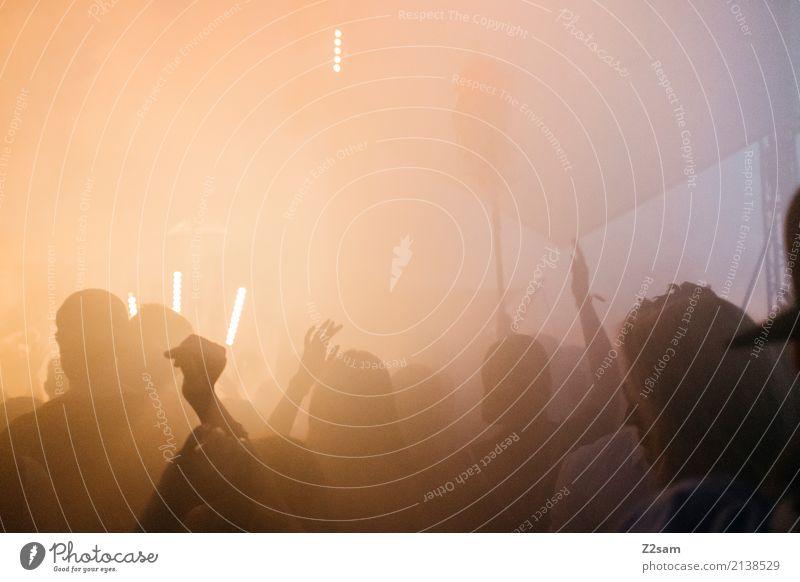 PARTYYYYY!!!! Lifestyle elegant Stil Party Veranstaltung Club Disco Festspiele Jugendliche Menschenmenge Feste & Feiern Tanzen Coolness trendy modern Freude