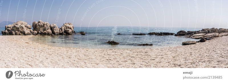 Zakynthos Ferien & Urlaub & Reisen Tourismus Ferne Freiheit Sommerurlaub Sonnenbad Umwelt Natur Landschaft Himmel Wolkenloser Himmel Schönes Wetter Wärme Meer