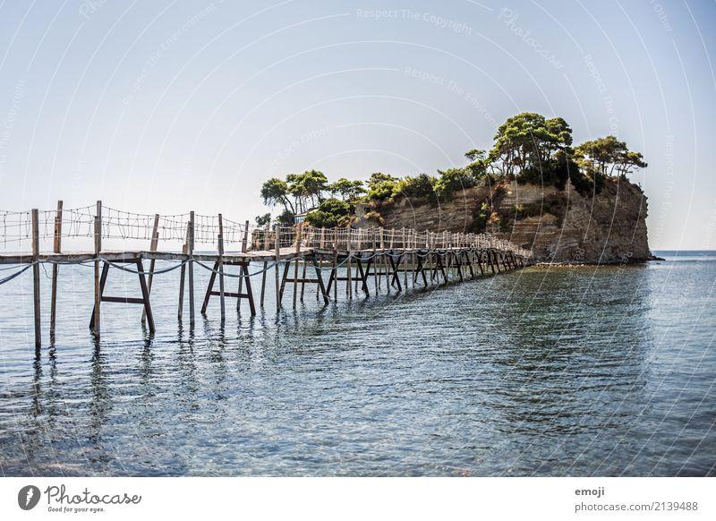 Cameo Island Himmel Natur Ferien & Urlaub & Reisen blau Sommer Wasser Landschaft Meer Umwelt natürlich Tourismus Erde Insel Schönes Wetter Brücke