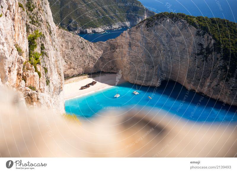 Shipwreck Himmel Natur Ferien & Urlaub & Reisen blau Sommer Wasser Landschaft Meer Umwelt natürlich Tourismus Erde Insel Schönes Wetter Sehenswürdigkeit