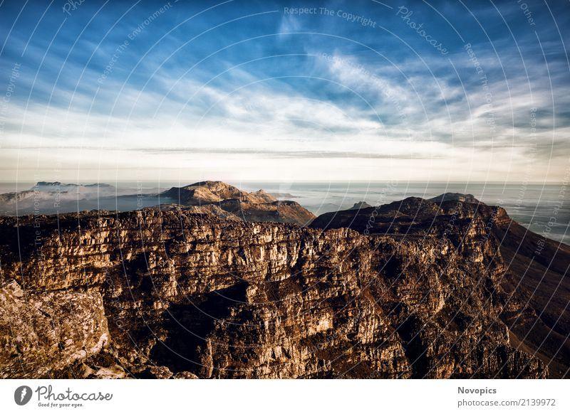 South Africa - Cape Town - Table Mountain Lifestyle Ferien & Urlaub & Reisen Abenteuer Freiheit Sonne Meer Berge u. Gebirge wandern Natur Landschaft Wasser