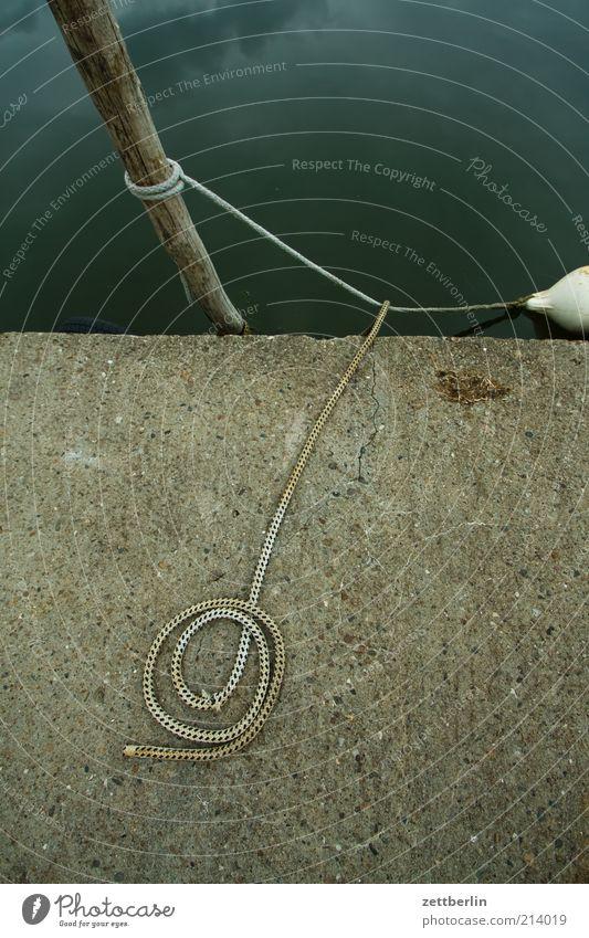 Thiessow Wasser Ferien & Urlaub & Reisen Meer ruhig Küste warten Freizeit & Hobby Seil Ausflug Beton liegen Tourismus Hafen festhalten Segeln Ostsee
