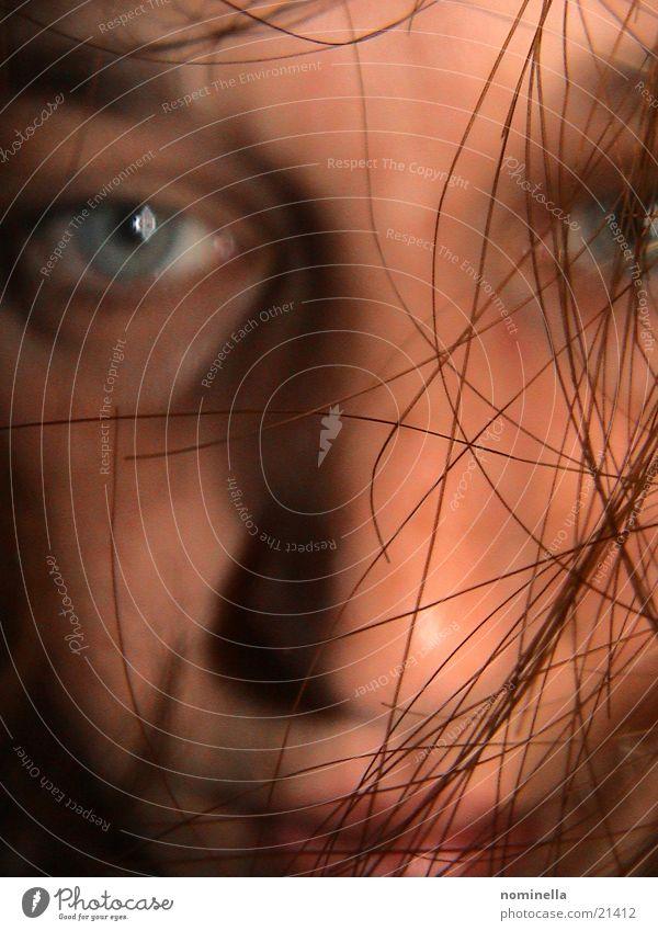 Haare Mensch Gesicht Haare & Frisuren obskur Porträt