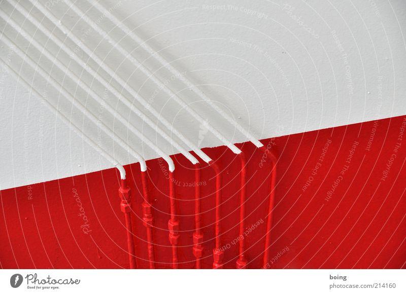 steel rot-weiß weiß rot verrückt Industrie Kabel Fabrik Verbindung Eisenrohr Schifffahrt Leitung Fähre Fahrzeug Ausflug Raumfahrt Bootsfahrt