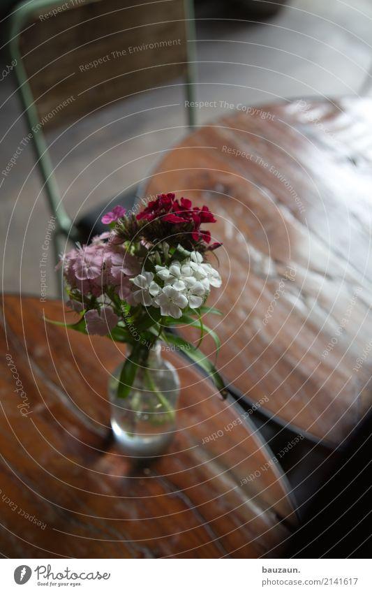 blume auf tisch. Lifestyle Häusliches Leben Innenarchitektur Dekoration & Verzierung Möbel Stuhl Tisch Restaurant Bar Cocktailbar Schweden Blumenstrauß Vase