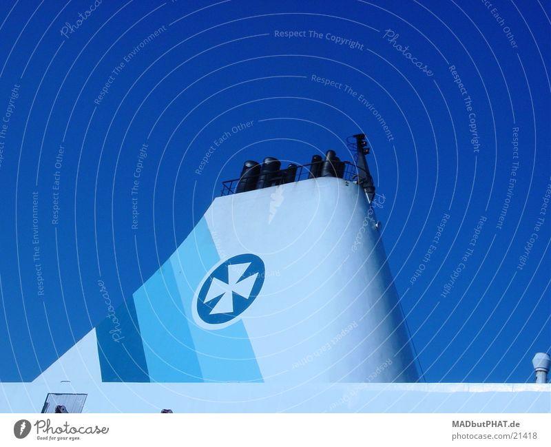 gute fahrt! blau See Wasserfahrzeug maritim