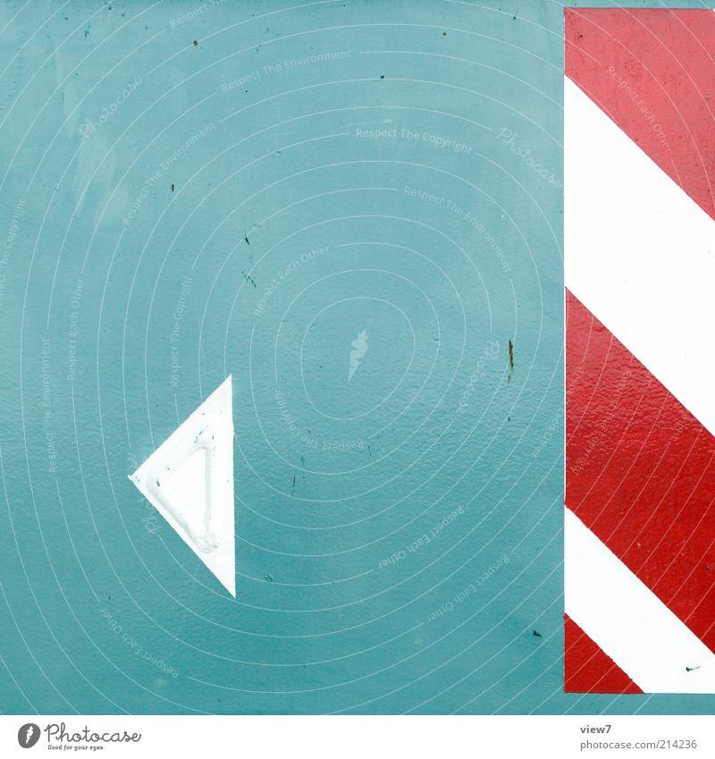 playBack rot Linie Metall Schilder & Markierungen Beginn modern Ordnung ästhetisch Güterverkehr & Logistik einfach dünn rein Streifen Pfeil Zeichen Stahl