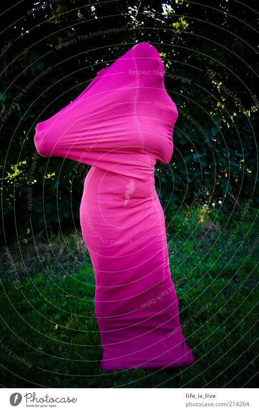 L.S.ANONYM Mensch Natur Leben Stil Kunst Angst rosa außergewöhnlich einzigartig Maske geheimnisvoll Kreativität Karneval Statue verstecken anonym